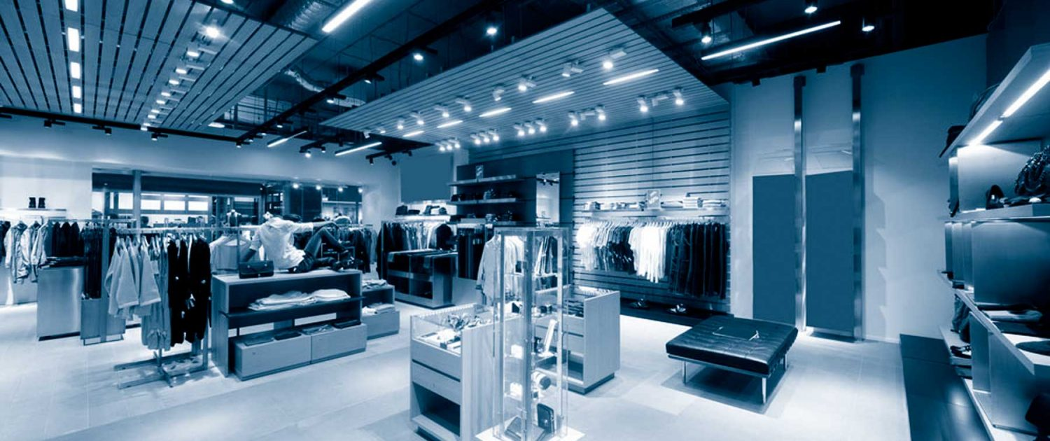 Retail expertise electricians for retail, shops electrical installation, lighting, alarms, maintenance, testing, support and projects in Leeds
