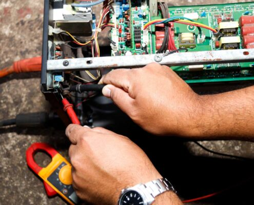 Safety Testing of commercial Electrical Systems